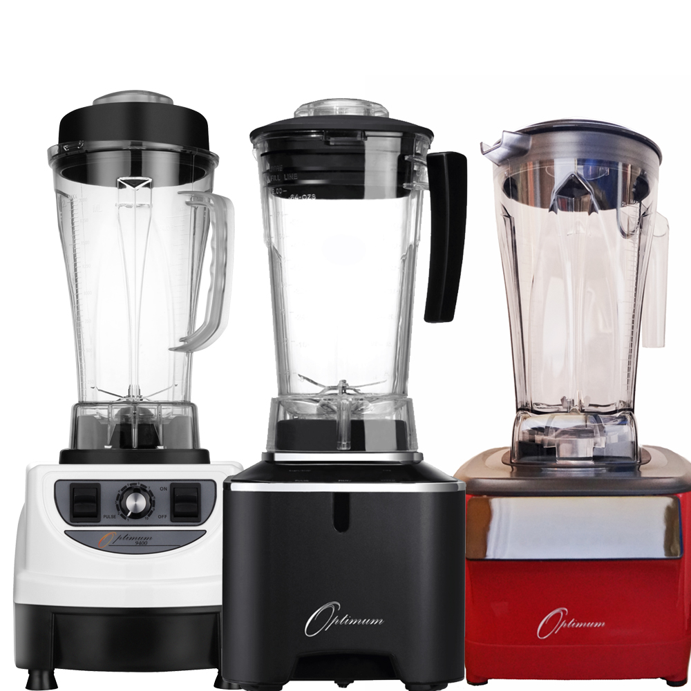Slow Juicer Vs High Speed Blender : High Speed Blenders :: Compare Optimum vortex Blenders vs vitamix