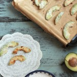 Coconut Avocado Fries with Coconut, Cashew and Cardamom Dip