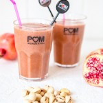 pomegranate mint smoothie
